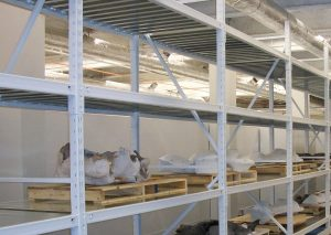 Museum Storage Shelving