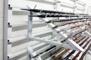 Weapons Storage Museum Racks