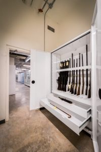 Weapons Storage Mississippi Civil Rights Museum Cabinets Delta Designs 01