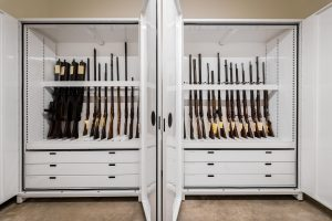 Weapons Storage Mississippi Civil Rights Museum Cabinets Delta Designs 03