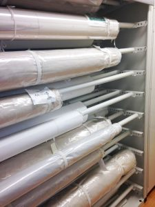 Rolled Textile Museum Storage – Delta Designs 03