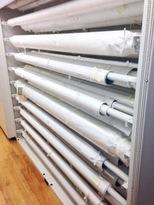 Rolled Textile Museum Storage – Delta Designs 04