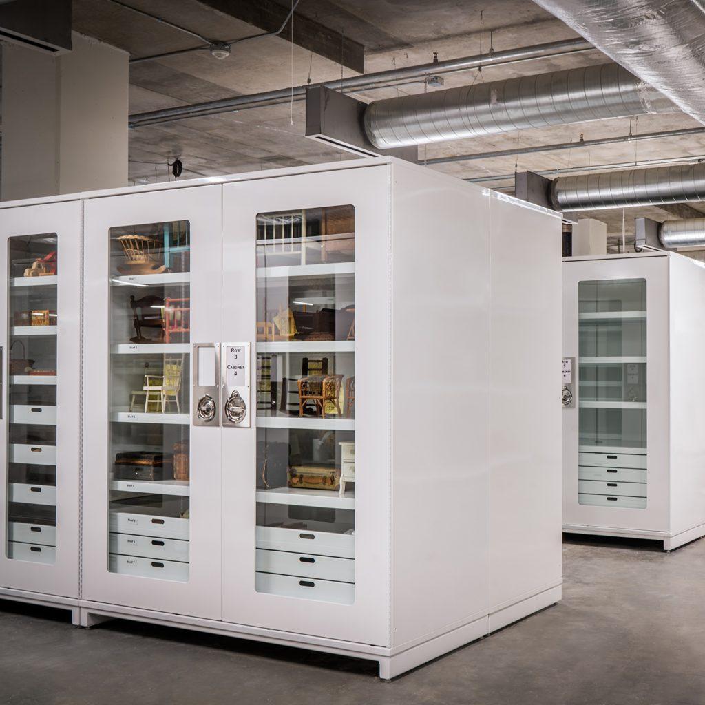 Historical 3D Art Storage Mississippi Civil Rights Museum Cabinets Delta Designs 03