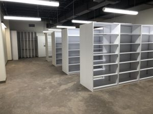 4-Post Shelving – Museum Storage