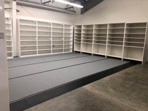 Mobile/Compact Storage & Open Shelving